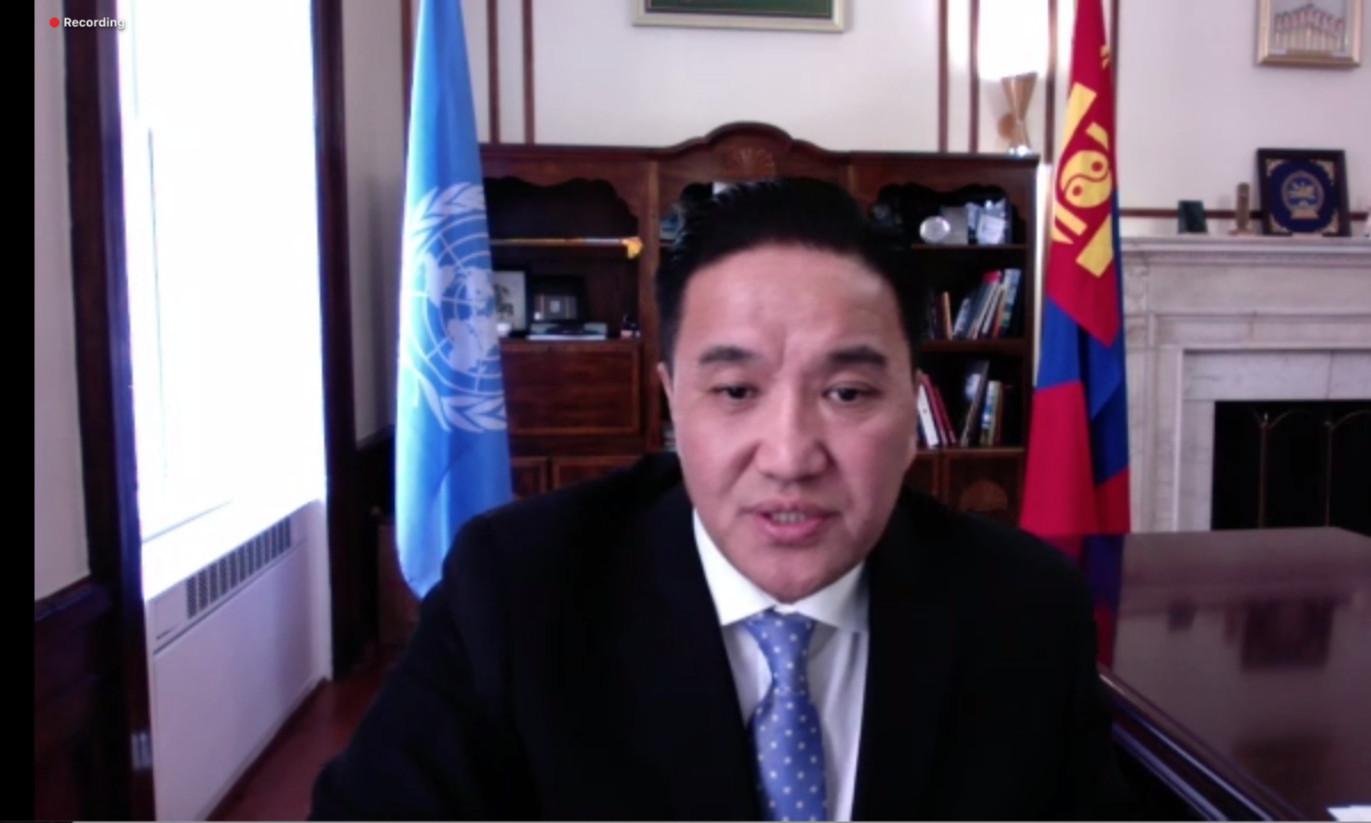 НҮБ-ЫН ХҮҮХДИЙН САНГИЙН ГҮЙЦЭТГЭХ ЗӨВЛӨЛИЙН ХОЁРДУГААР ХУРАЛДААНД ҮГ ХЭЛЭВ